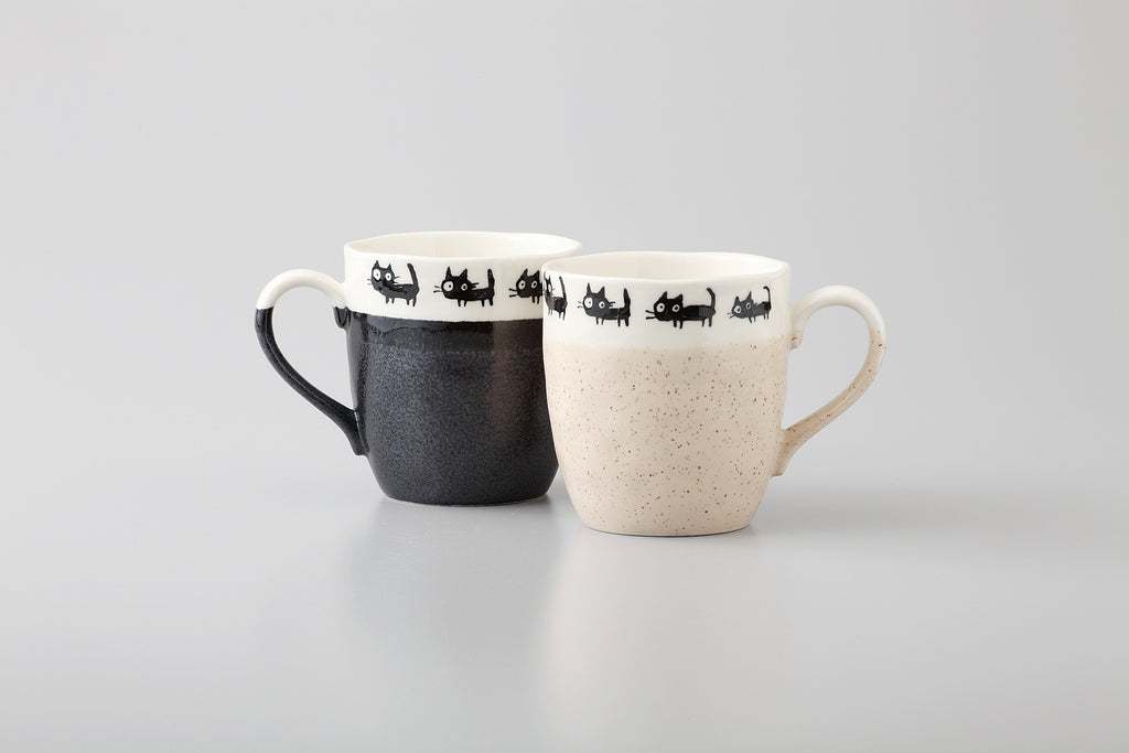 Black Cat Pair Mug 35-55-8