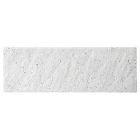White Mikage 36cm Rectangular Plate (360×120x13mm) KY7089-07