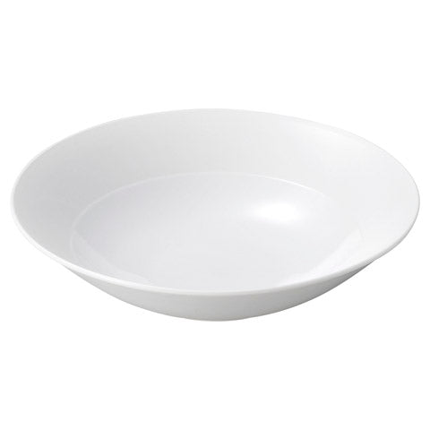Moire White 21cm Deep Bowl (210×50mm) KY7005-9