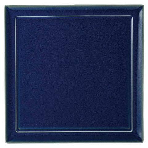 Mer Blue 27cm Square Plate (265x265×13mm) KY7009-04