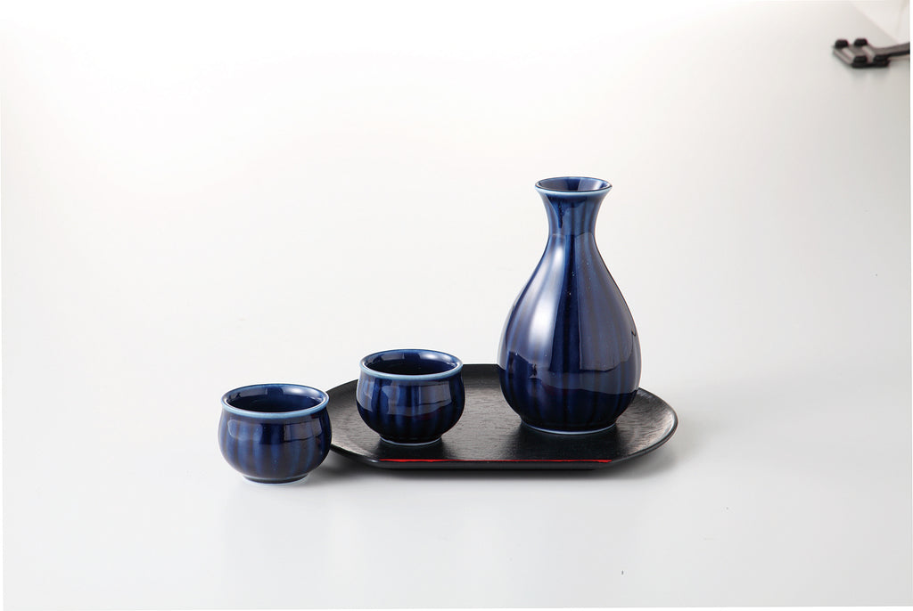 NASUKON Cold Sake Carafe Set with Tray 54-53-41