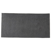 Carbon Black 20cm Rectangular Plate (205x100x7mm) KY7086-01