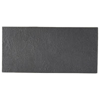 Carbon Black 25cm Rectangular Plate (255x122x7mm) KY7086-02