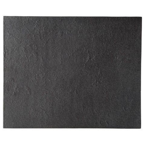 Carbon Black 32cm Rectangular Plate (330x265x7mm) KY7086-05