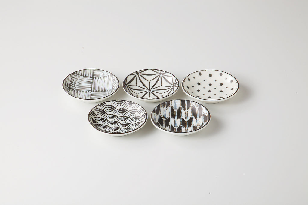 Mini Plate 9cm Set  74-51-61