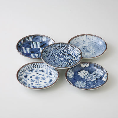 5pcs Round Plate Gift Set  KY91-52-43