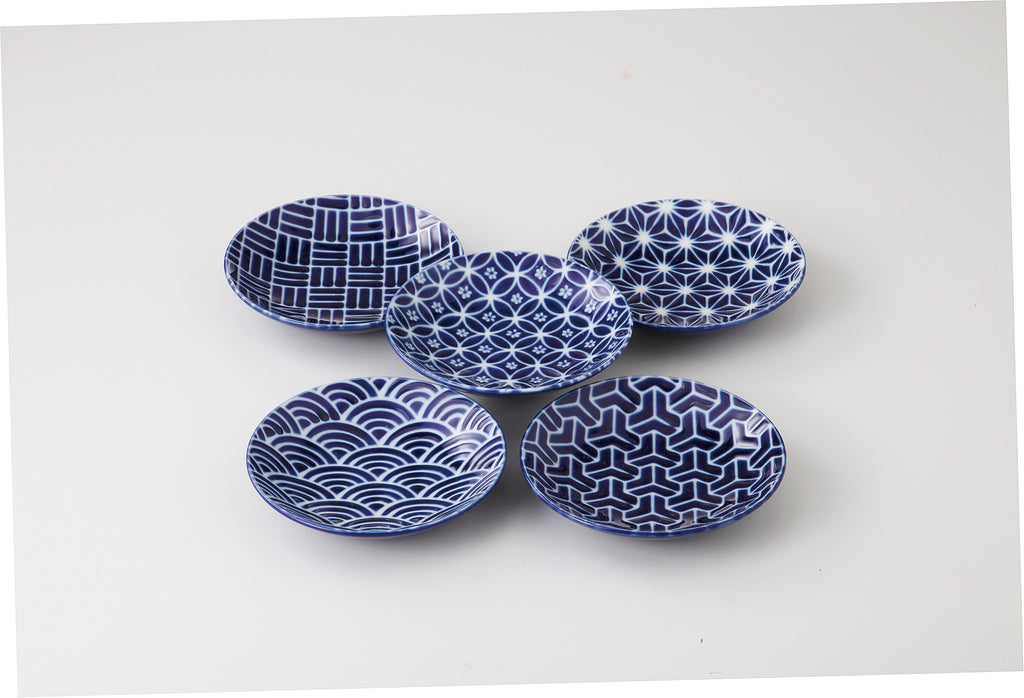5pcs Round Plate Gift Set  KY97-52-43