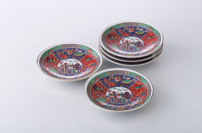 5pcs Round Plate Gift Set  KY97-54-43