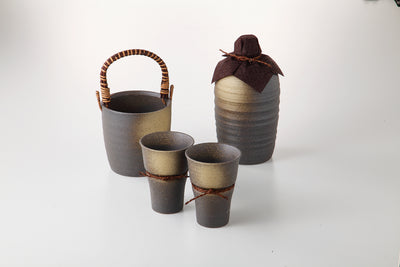 Shochu Bottle Set with Ice Pail  114-55-43