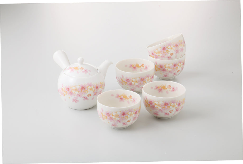 Tea Pot & Cup Set  122-54-97
