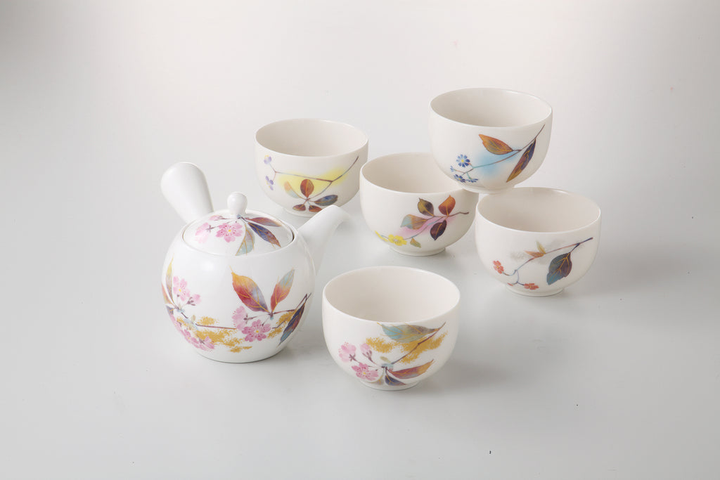 Tea Pot & Cup Set  135-51-10