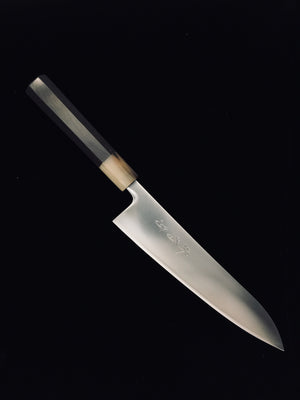 Sakai Kikumori Premium Powder Metal WA-Gyuto (Chef's knife) 210mm Ebony Marble