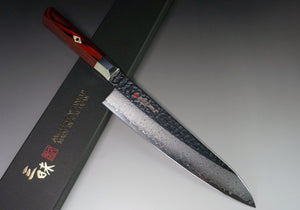 ZANMAI Supreme Hammered VG10 Damascus Gyuto (Chef's knife) 210mm