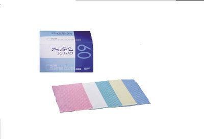 Counter cloth thick blue 60pcs FT303
