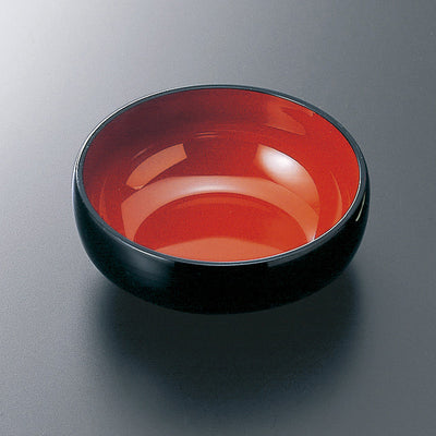 ABS Black and Red Bowl for Bento Box