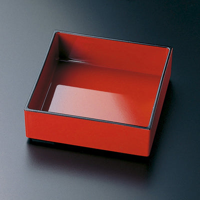 ABS Red Square Bowl for Bento Box