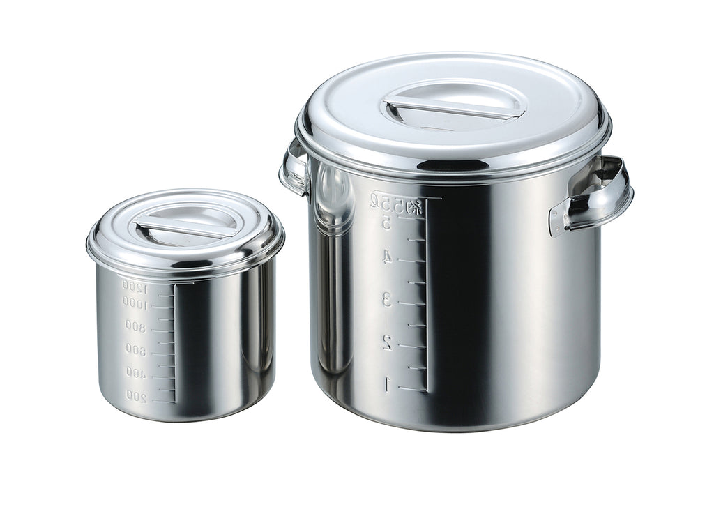 18-8 Stainless Round Kitchen Pot 12cm