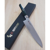 ZANMAI Revolution SPG2 Green Micarta Gyuto (Chef's knife) 210mm