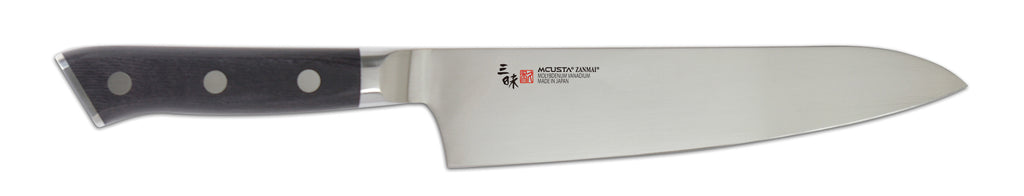 ZANMAI Classic Molybdenum Black Pakka Wood Gyuto (Chef's knife) 210mm