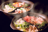 IH Aluminium Hot Pot with Divider (2 Compartment) 30cm