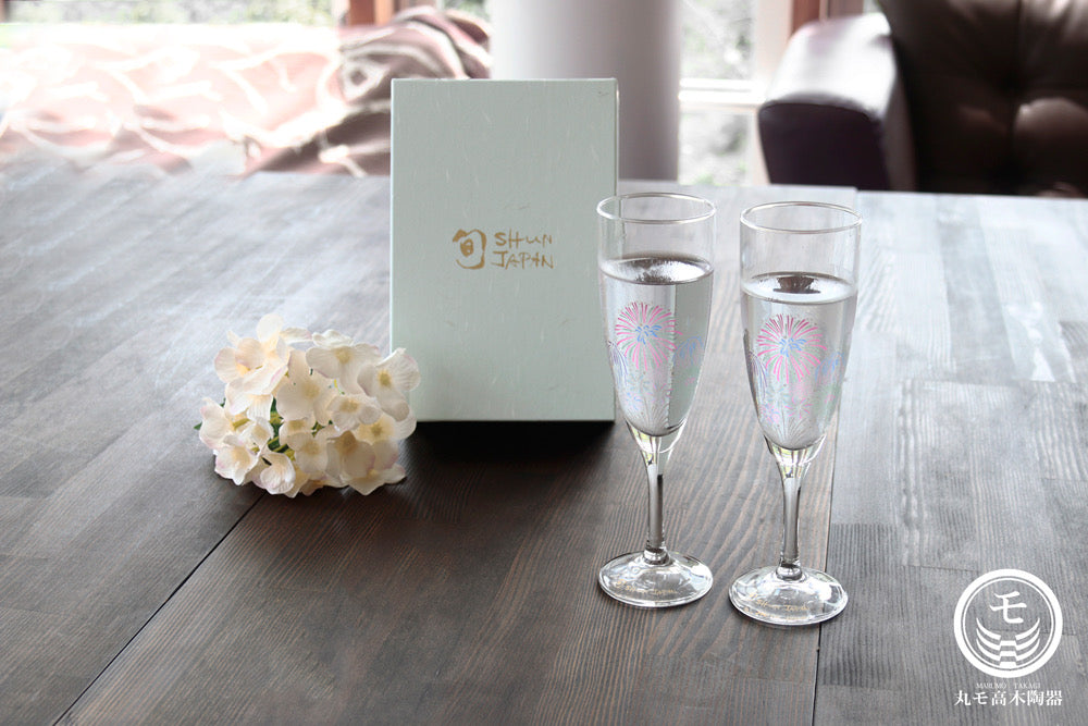 Champagne Glass Fireworks Gift Set 52108203