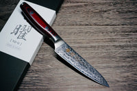 YAXELL YO-U 101 SG2 Damascus Petty Knife 120mm