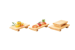 Wooden sushi thin Geta L
