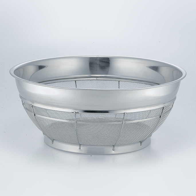 Stainless Shallow Colander (Large Type) 46cm