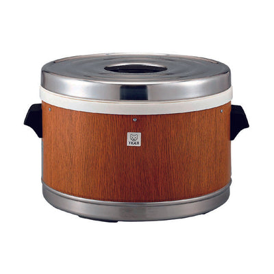 TIGER Commercial Use Thermal Rice Warmer (Walnut) JFM-5700