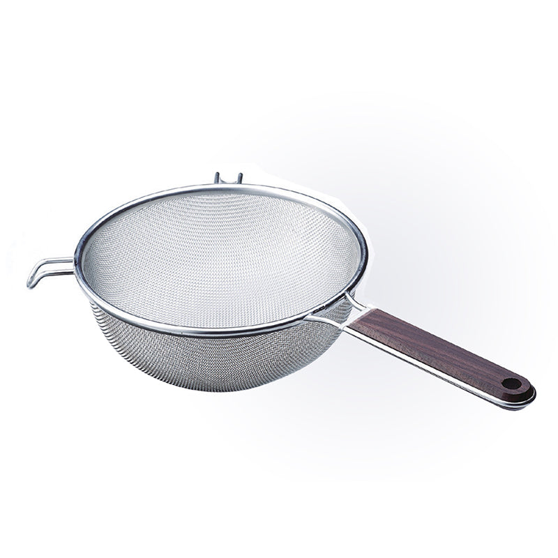 Wooden Handle Sieve 16cm