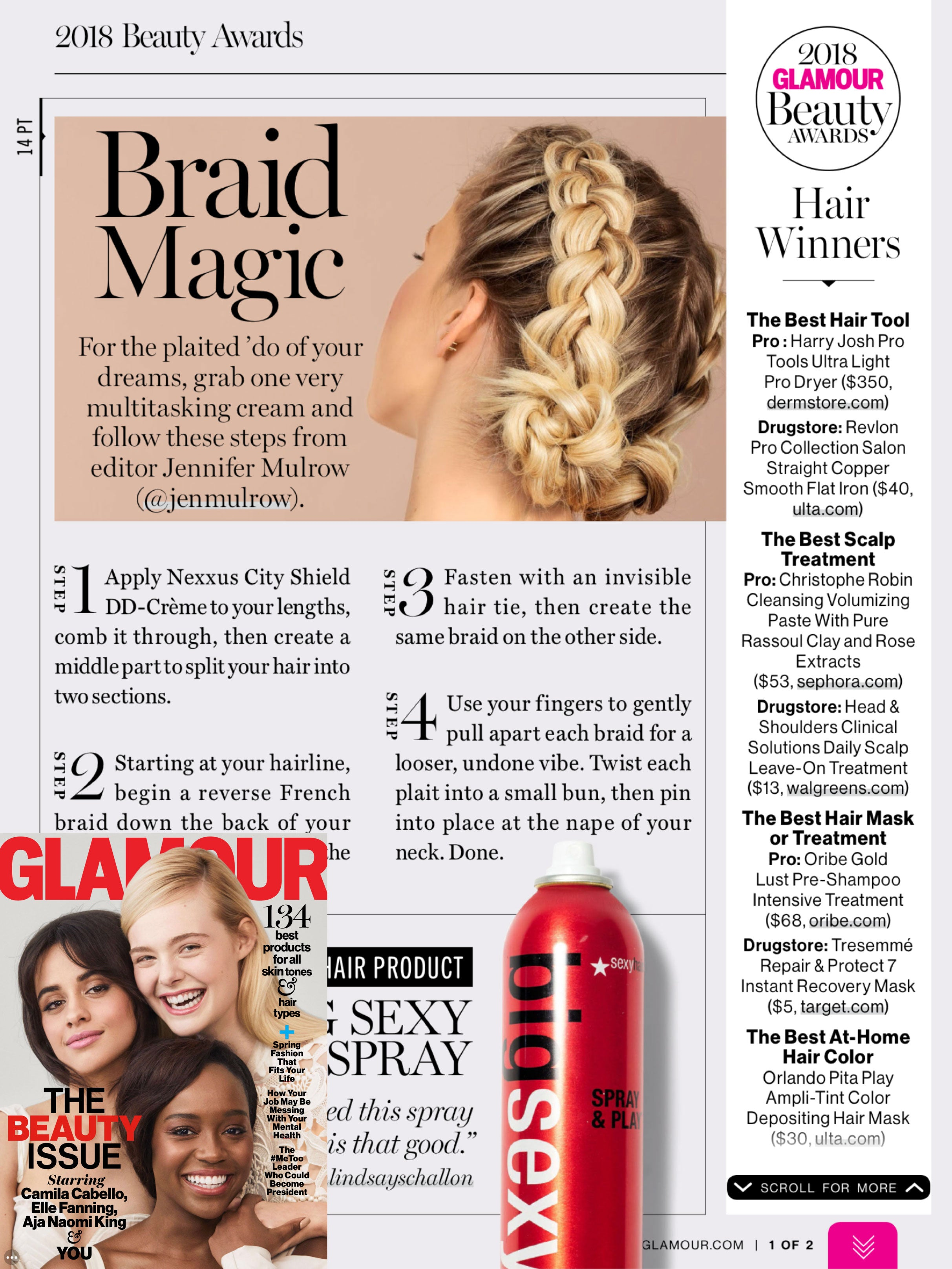 The Best At-Home Hair Color - 2018 Glamour Beauty Awards – Orlando ...