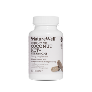 Coconut MCT + Mushrooms Dietary Supplement