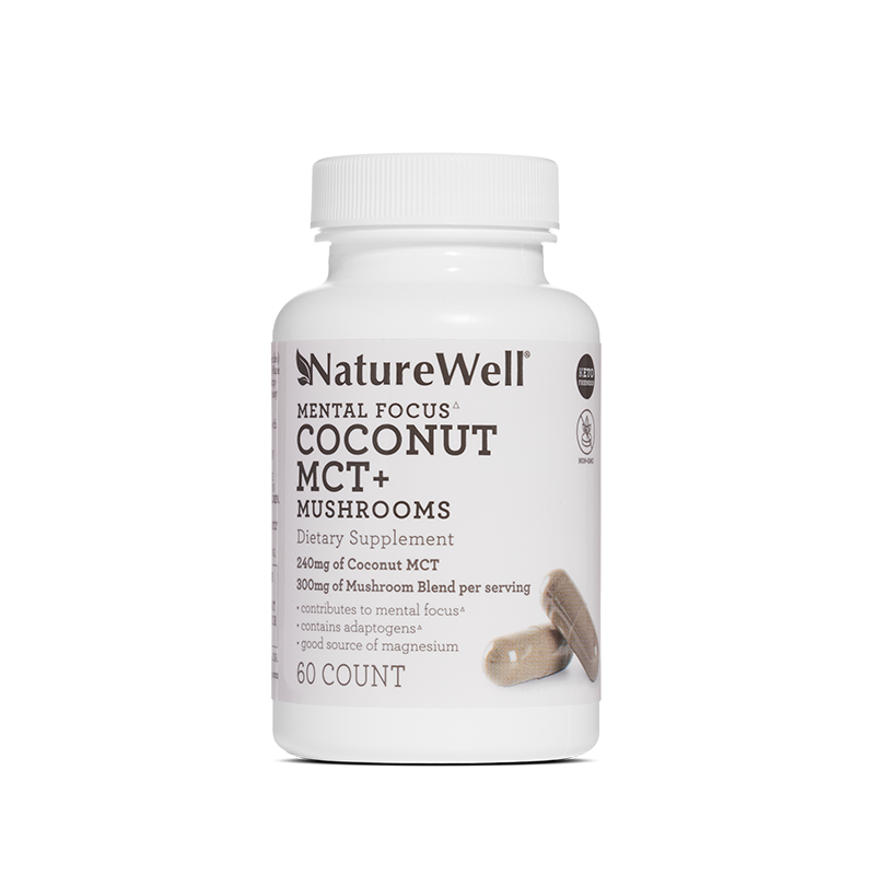 Coconut MCT + Mushrooms Dietary Supplement - Default Title