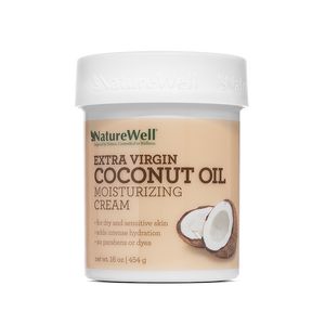 Extra Virgin Coconut Oil Moisturizing Cream 16oz