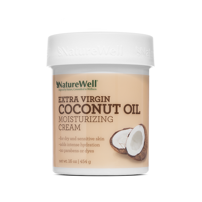 Extra Virgin Coconut Oil Moisturizing Cream - 16 oz