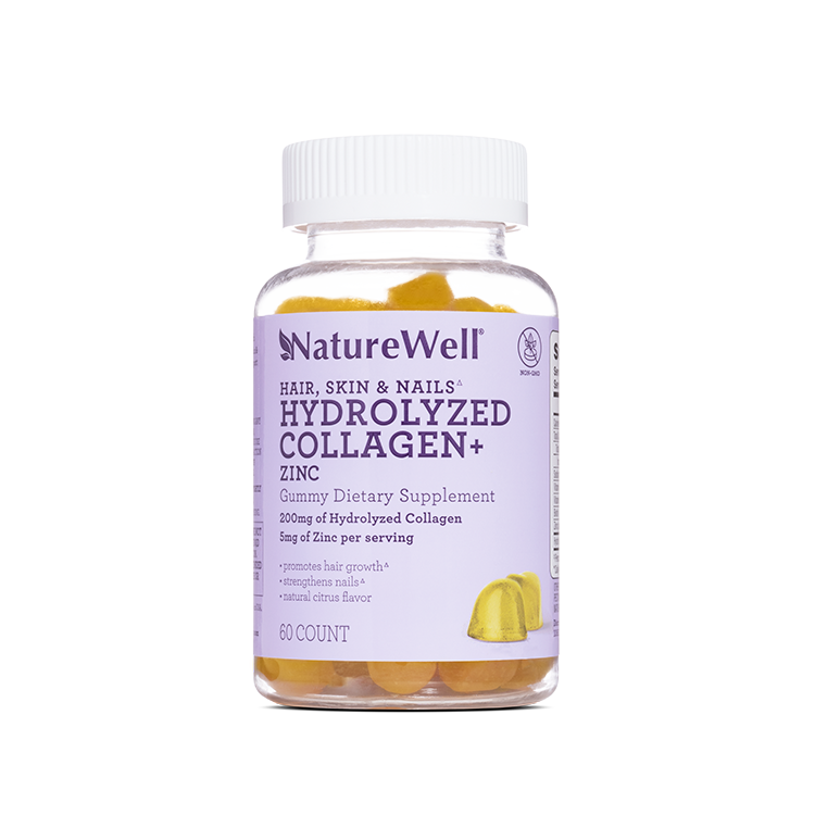 Hydrolyzed Collagen + Zinc Dietary Supplement - Default Title