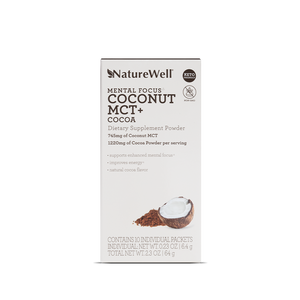 Coconut MCT + Cocoa Dietary Supplement | 10 Pack