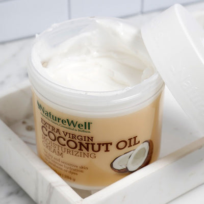 Extra Virgin Coconut Oil Moisturizing Cream | 10 oz