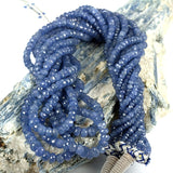 Light Blue Sapphire Gemstone Beads