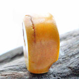 Single large Old Amber Bead 30mm