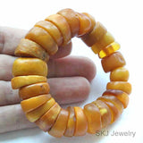 Antique Old African Traded Amber Beads