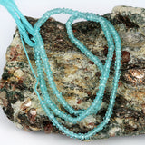 Small Apatite Gemstone Bead Str.