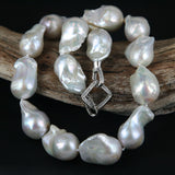 Large Kasumi Style Pearl Bead Necklace