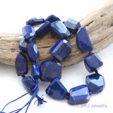 Natural Untreated Lapis Lazuli Beads High Grade