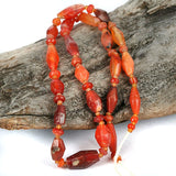 Very Old Carnelian Bead Strand