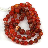 Very Old Carnelian 5 - 8mm Bead Strand