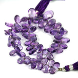 Purple Amethyst Faceted Brio Gemstone Beads