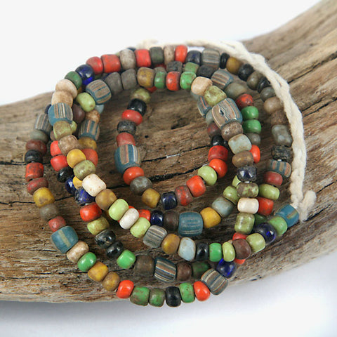 Small Old Glass Trade Beads
