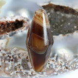 Very Old Agate Bead - Natural Eye