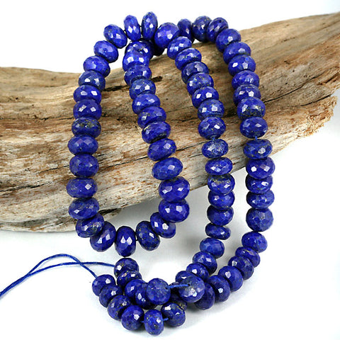 Top Grade Royal Blue Afghan Lapis Lazuli Beads